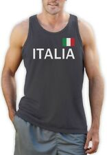 Italy Soccer Singlet National Soccer Team Italia Flag World Cup 2014 Fan Shirt
