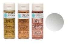 Martha Stewart Acrylic Metallic Paint Craft SELECT YOUR COLOR!