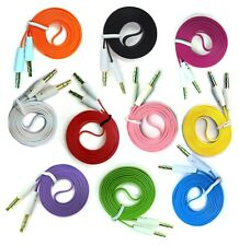 1 to 1000 Pcs 3ft 3.5mm Jack Male to Male Stereo Audio AUX Cable For iPhone Lot