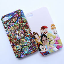 Funny Disney Princess Alice Ariel Stained Glass Pattern iPhone 4 4s Case Cover