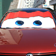 New Eyes Pixar Cars Front Car Windshield Sun Shade Sunvisor Cartoon lightening