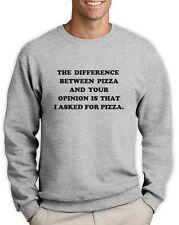 I Asked For Pizza Sweatshirt Tumbler Fashion Dope Swag quote Unicorn Jumper