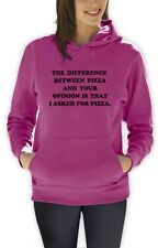 I Asked For Pizza Women Hoodie PIZZA Tumbler Fashion Dope Swag quote Unicorn