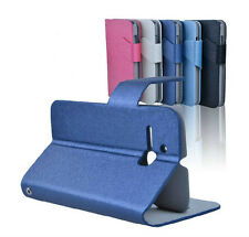 New Flip Slim PU Leather Stand Cover For Alcatel one Touch Smart Phone Case