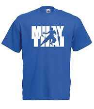 MUAY THAI mma gym sport gym train Mens Womens T SHIRT TOP size 8-16 s m l xl xxl
