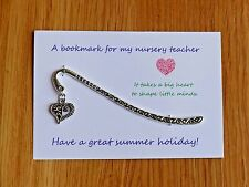 Teacher gift, also Nursery teacher, Teaching assistant, personalised if you like