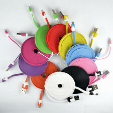 10Pcs/Lot 10FT USB Charger Data Cable for HTC LG Sony Nokia Samsung Cellphones