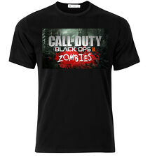 Call Of Duty Zombies - Graphic Cotton T Shirt Short & Long Sleeve