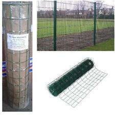 PVC COATED GREEN GARDEN MESH WIRE FENCE FENCING 1.2m 1200mm 10m 20 meter
