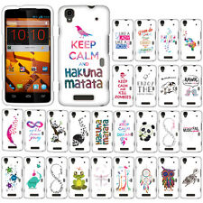 For ZTE Max N9520 Case Accessory HARD Phone Cover Protector Love Music Infinity