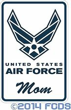 United States Air Force 12 x 18 Aluminum Sign You Customize with 14 Text Options