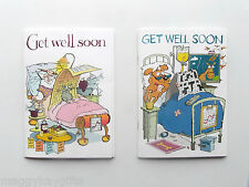 GET WELL SOON CARDS - Crossword or Sudoku - Puzzle Books - Age 8 - 80 - Fun