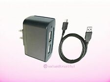 Dual USB Port AC Adapter For Motorola Rival Devour Droid Hint Grasp Theory Phone
