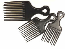 Afro comb barber hairdress salon quality cut curly hair wig detangler wide teeth