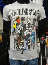 THE ROLLING STONES Official Uni-Sex Tee Shirt Various Sizes SILHOUETTE COLLAGE
