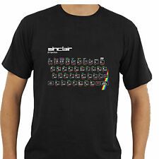 ZX Spectrum T-Shirt Retro Computer Keyboard Geek Big Bang Inspired Tee