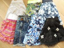 NWT JUSTICE Girl,Tween,Silver,Blue,Black,Jean, Sparkle,Skirt,Skort 8,14,16,18