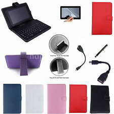 """Colorful Keyboard PU Case+Free Film For 8"""" Toshiba Encore Wt8 Windows 8.1 Tablet"""