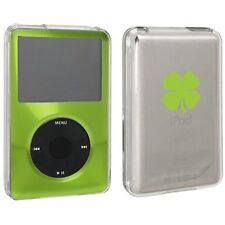 For Apple iPod Classic Hard Case Cover 6th 80gb 120gb 7th 160gb Shamrock Clover