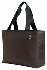 Port Authority Women's Seatbelt Handles Padded Laptop Sleeve Tote Bag. BG401