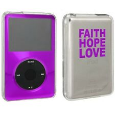 For Apple iPod Classic Hard Case Cover 6th 80gb 120gb 7th 160gb Faith Hope Love