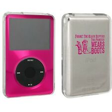 For Apple iPod Classic Hard Case 80 120 160gb Princess Wears Boots Cowgirl
