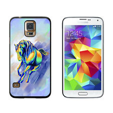 Horse Running Abstract - Painterly Expressionism - Case for Samsung Galaxy S5