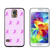 Breast Cancer Awareness Ribbons - Hard Protective Case for Samsung Galaxy S5