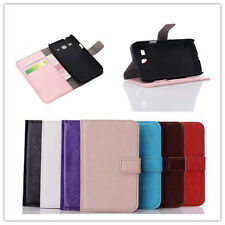 For Samsung Galaxy Core Plus G3500 magnetic Leather slot wallet Cover stand Case