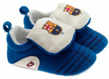 FC BARCELONA Official Product Baby Toddler Velcro Boot Crib Shoe