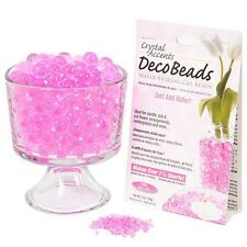 Deco Beads grow into a gel-like marble when you add water.MAKES 1.5 QUART