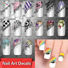 Hot `!` Sale Nail Art Decals Half Wraps French Manicure Water Transfer Stickers