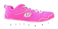 Skechers Synergy - A Lister Hot Pink Memory Foam Lined Athletic Trainers New