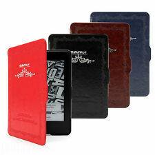 RETRO CLASSIC THIN CASE COVER PU LEATHER FOR AMAZON KINDLE PAPERWHITE WIFI / 3G