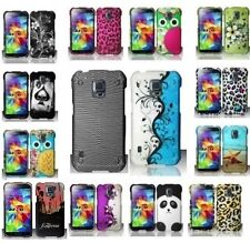 For Samsung Galaxy S5 Active Designs Hard Snap On Cover Case Protector Accessory