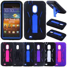Armor Defender Case Kickstand for Samsung Galaxy S2 D710 Boost Mobile Sprint
