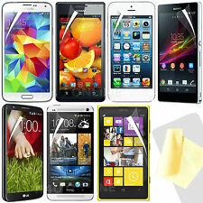 Twin Pack - Clear LCD Premium Screen Protector Packs for Various Mobile Phones