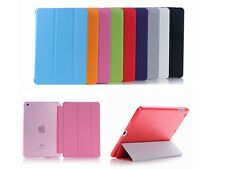 Slim Smart Magnetic PU Cover Case Sleep Wake w/ Back Case for iPad mini / Retina