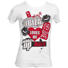 OFFICIAL Pukka Up Ibiza: Best Bits Mens White T-shirt by Mas-If RRP £30.00