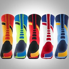 FREE SHIPPING NIKE HYPER ELITE WORLD TOUR BASKETBALL CREW SOCKS spain usa SX4897