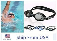 UV Protection Anti Fog Swimming Swim Goggle Glasses Adjustable Competition USA