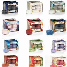 Yankee Candle Tea Lights - Box of 12 - Yankee Scented Fragrance Tea Lights