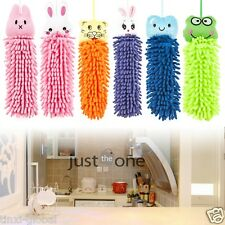 Kitchen Bathroom Car Cute Cartoon Absorbent Water Hand Dry Towel Cleaning Cloth