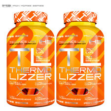 Thermo Lizzer 120/240 Caps. High Thermogenesis Fat Burner Increase Metabolism