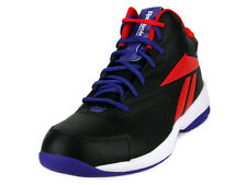[V61140] REEBOK COURT FLYER BLACK.RED.WHITE/PURPLE MEN'S SIZE 8.5 TO 11 NIB
