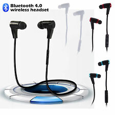 2014 Sports Bluetooth 4.0 Wireless Sweat-proof Earbuds Headset In-Ear Headphone
