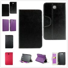 Flip Leather Wallet Card Case Cover Stand For Samsung Galaxy Tab 3 7 inch T210