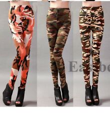 Punk Fashion Sexy Womens Printed Leggings Stretchy Pencil Skinny
