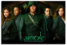 Arrow TV Series Group Large Wall Poster New - Maxi Size 36 x 24 Inch