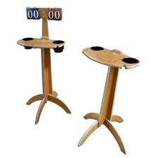 Score board & Drink Table Combo - for Cornhole, Washer Game, bag toss, corn toss